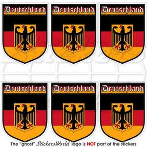 GERMANY-German-Deutschland-Shield-1-6-034-40mm-Mobile-Phone-Mini-Stickers-Decals-x6