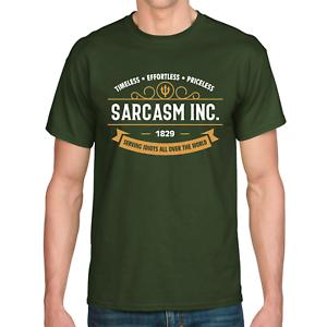 SARCASM-INC-Sarkasmus-Ironie-Boese-Evil-Sprueche-Spass-Lustig-Comedy-Fun-T-Shirt