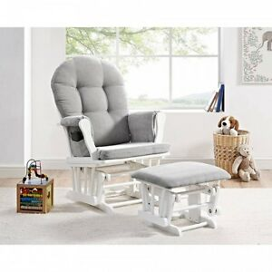 Image Is Loading Nursery Rocker Glider Bedroom Rocking Chair Baby Newborn