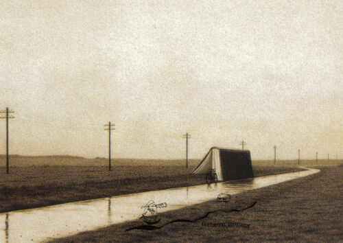 Landstrasse Quint Buchholz Postcard Art Kunstkarte Country Road