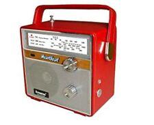 Retro Vintage Radio Steepletone Red Pink  New In Box