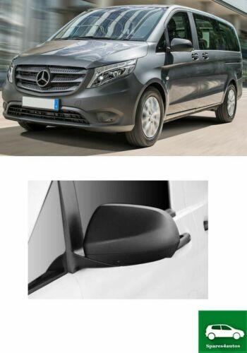 Ala Cubierta De Espejo Cap izquierda Mercedes Benz Clase V compatible con Vito W447 14-18
