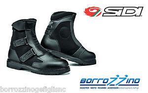 STIVALI-moto-FAST-RAIN-SIDI-technomicro-NERO-FODERATO-RAINTEX-TG-44