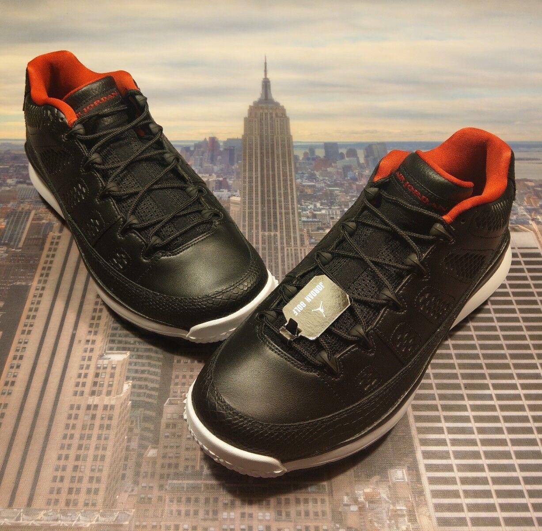 Nike Air Jordan IX 9 Retro Golf Cleat Shoe Bred Men's Size 8.5 833798 002 New