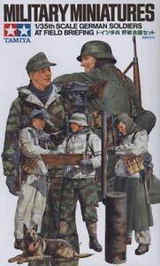 Tamiya-1-35-Masstab-Deutsche-Soldaten-Feld-Briefing