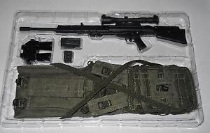 1/6 Modern Forces Spéciales Fusil Sniper/drag Bag/harnais/binocs Loose