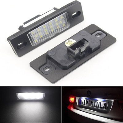 License Number Plate Light Lamp  SMD LED CANBUS fit VW Porsche Cayenne Touareg