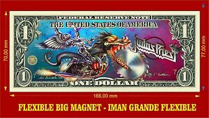 Judas-Priest-Painkiller-IMAN-BILLETE-1-DOLLAR-BILL-MAGNET
