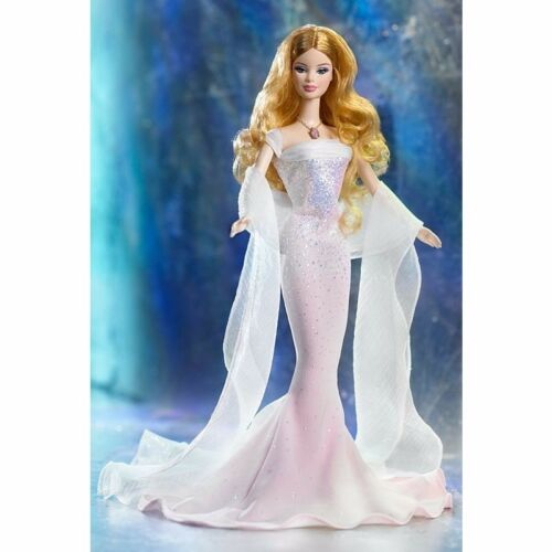 BIRTHSTONE COLLECTION October Opal COLLECTOR EDITION Barbie Doll