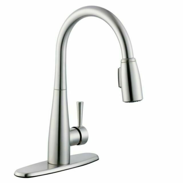Glacier Bay Pull Down Sprayer Kitchen Faucet Soap Dispenser 67070 3004 For Sale Online Ebay