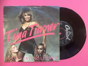 Tina-Turner-Let-039-s-Stay-Together-I-Wrote-A-Letter-Capitol-CL316-Ex-Condition