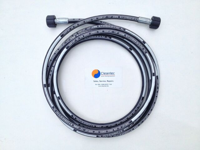 4 Metre Challenge Xtreme DW1840BV Pressure Washer Replacement Hose Four 4M M