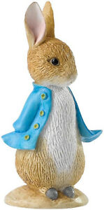 BEATRIX POTTER PETER RABBIT (A28293) MINIATURE FIGURINE (BORDER/ENESCO<wbr/>)