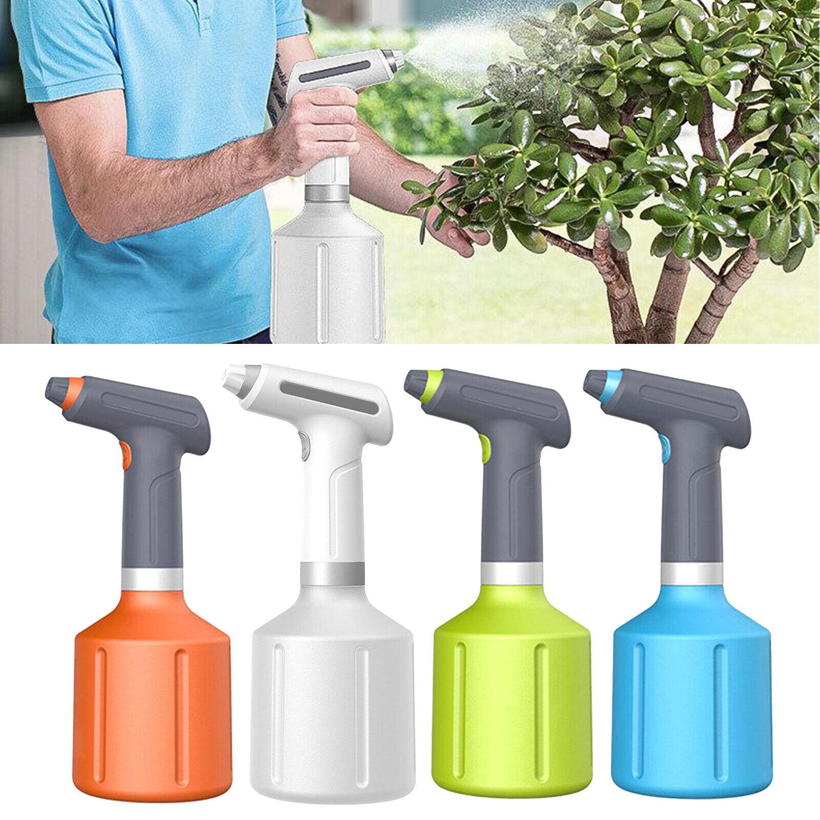 Handheld Electric Sprayer Atomizer Flower Plant Watering Fogger Indoor Outdoor