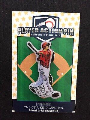 Zielsetzung Cincinnati Reds Joey Votto Trikot Revers Pin-limited Edition 100 Fanartikel Baseball & Softball