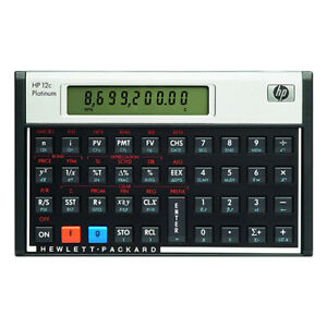 Hewlett-Packard-HP-12C-Platinum-Financial-Calculator