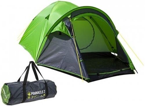 Summit H-Halt Pinnacle Double Skin 4 Person Camping Hiking Ourdoors Dome Tent