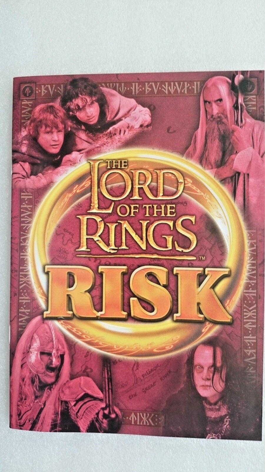Profitez de la fin de de de l'année, copiez le prix du cadeau, c'est au-delà de votre imagination! Le Seigneur des Anneaux Risk par Parker 2002 qui b32fc7