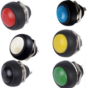 10-X-Waterproof-Mini-Round-Momentary-Push-Button-Toggle-Switch-Sales
