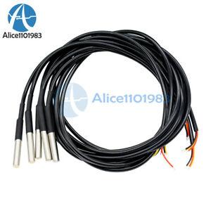 1Pcs-Waterproof-Digital-Thermal-Probe-or-Sensor-DS18B20-Length-1M