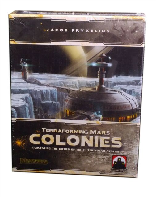 Stronghold Games, Terraforming Mars Colonies Expansion, New and Sealed