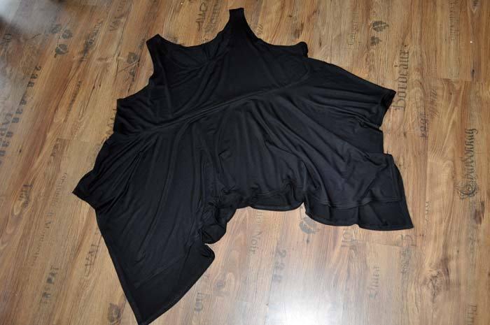 Look a Strati Zipfeliger Big-überwurf Soluzione nero 46,48,50,52 46,48,50,52 46,48,50,52  XL,XXL,XXXL 03b490