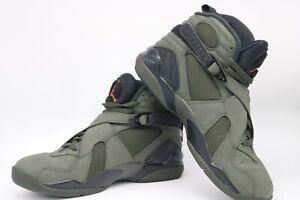 various colors 1ace1 d551a Подробные сведения о Air Jordan 8 ретро, темно-зеленый, 9.5, 305381-305-  показать заголовок оригинала