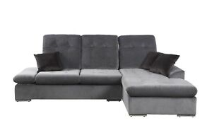 Image Is Loading Modern Microfiber Sectional Sofa With Chaise L Shape