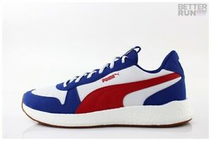 Puma Sneaker-NRGY Rétro Galaxy-Blue High Risk Red