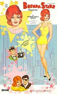 VINTGE 1957 BOB CUMMINGS PAPER DOLL ~NICE~ REPRODUCTION~Org SIZE Unct NO.1 SELLR