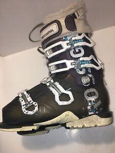 Rossignol-All-Track-Pro-100-Ski-Boots-Women-s-Size-22-22-5-US-5-5-5-Black-White