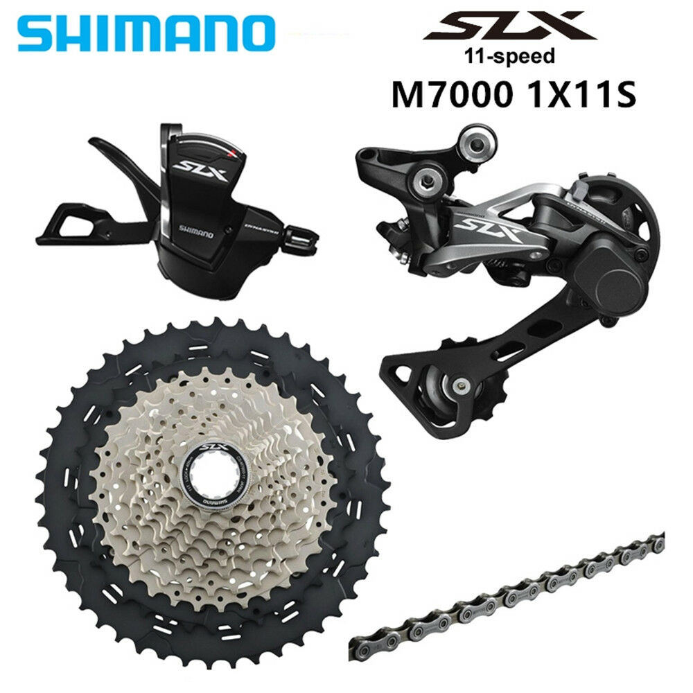 SHIMANO SLX M7000 1x11 11S Speed 11-42 46T Groupset Contains New