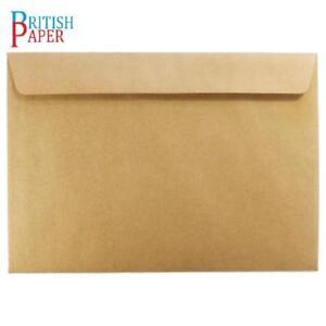 C5 C6 C7 A5 WHITE BROWN KRAFT ENVELOPES PAPER 4 CARDS MINI SMALL LARGE CRAFT LOT