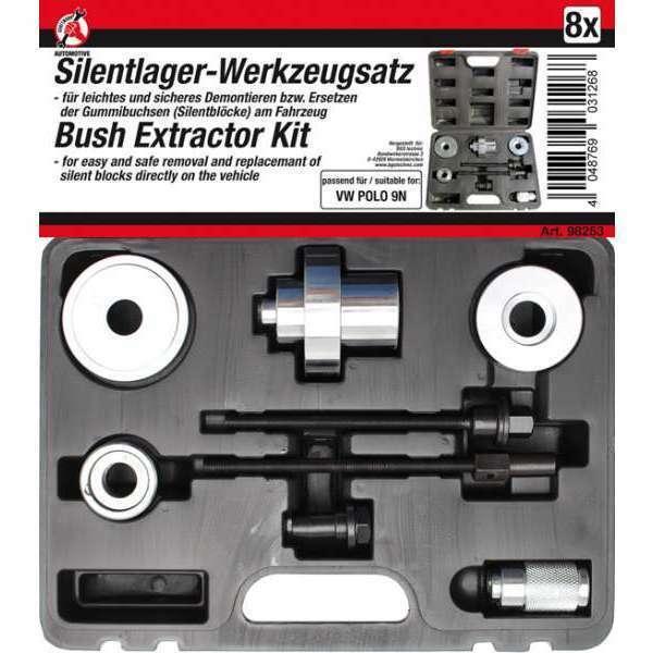 Kraftmann 98253 Silentlager-Werkzeug-Satz per VW Polo 9N