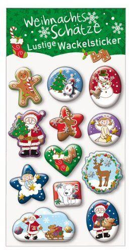 ** Moses 17488 Sticker Weihnachtsschätze Weihnachten
