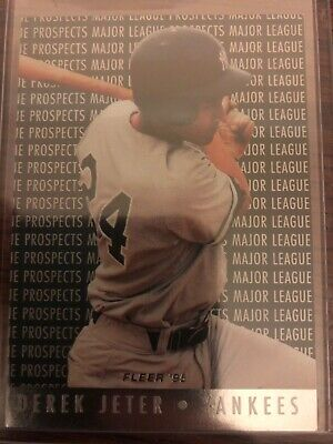 New York Yankees DEREK JETER 1995 Fleer Major League Prospects #7 Baseball Card
