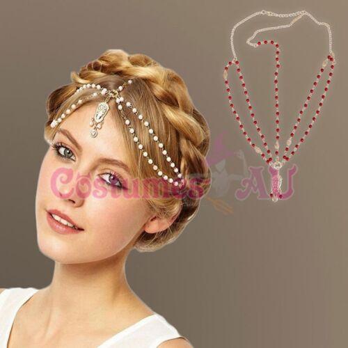 1920s Headband Vintage Boho Bridal Gatsby 20s Bohemia 20/'s Pearls Headpiece