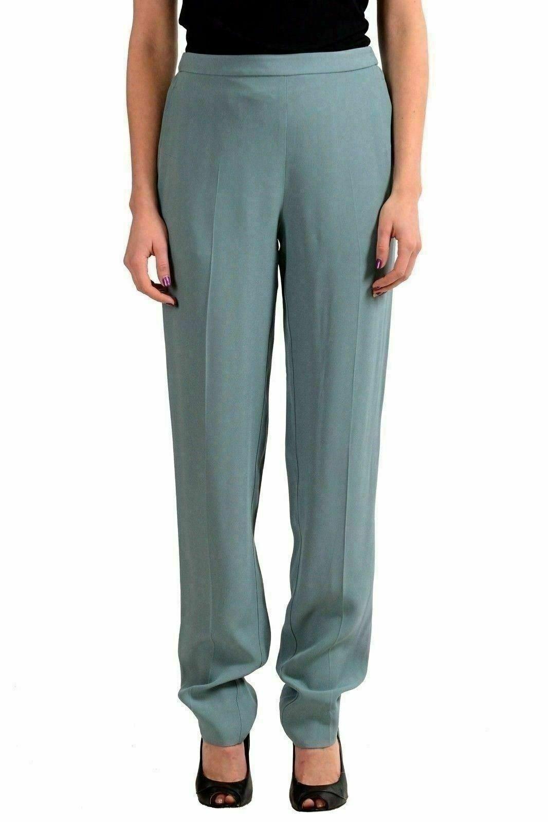 Maison Margiela 4 Light Green Woman's Casual Pants US M IT 42