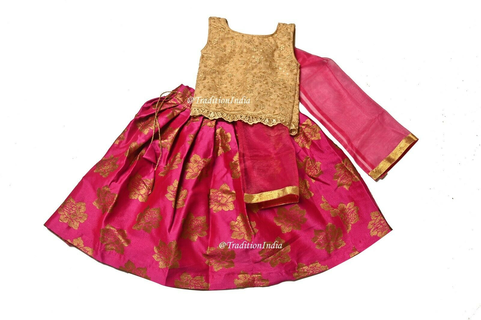 Baby Girl Lehenga, Readymade Kids Dress, Festive Wear, Small Girls Dress,