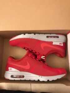 release date: f683c cd8e2 Details about NIKE AIR MAX ZERO PREMIUM GYM RED-GYM RED-WOLF GREY SZ 12  [881982-600]