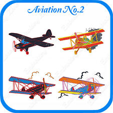 AIRPLANES//PLANES V.2 LD MACHINE EMBROIDERY DESIGNS 4x4