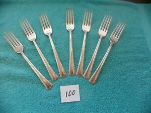 Holmes /& Edwards Silverplate MAY QUEEN 1951 2 Grille Forks International