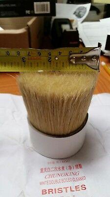 hog hair bristle crafts brush making book binding whisks Clean 95 mm 270g 2 pk