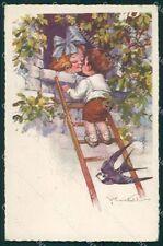 Castelli Children Degami serie 432 postcard cartolina QT6655