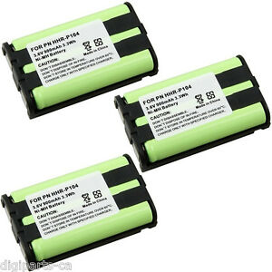 3X-For-PANASONIC-Cordless-Phone-HHR-P104-Ni-MH-Battery-900mAh