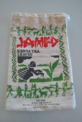 Genossenschaft Vintage, Baumwollsack, Beutel, Kenya Tea Leaves, 60er Jahre