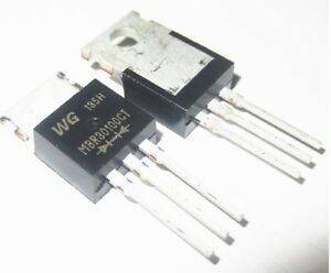 5PCS X MBRF30100CT MBR30100 Schottky Diode 30A 100V TO-220