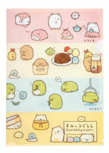 File Folder 6+1 Pocket Bread Sumikko Gurashi #01