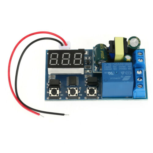 AC110V 1100V 250V Digital Cycle Delay Timer Relay Switch Turn ON//OFF Module S0J0