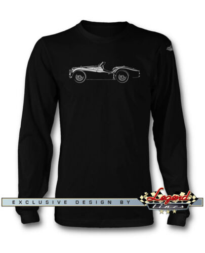 Multi Colors /& Sizes Triumph TR2 TR3 Convertible Roadster Long Sleeves T-Shirt